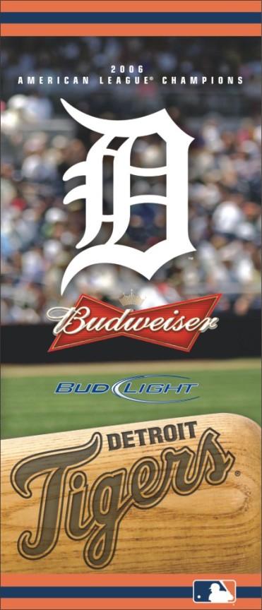 Budweiser Tigers Sign 2'X8'