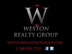 Weston Realty Group Sign-Dark