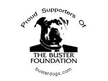 """""""The Buster Foundation"""" Proud Supporter Sticker"""